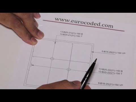 How to Read Structural Drawings (Example Reinforcement Drawing)