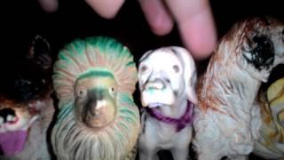 Моя коллекция фигурок диких кошек и собак(волков)