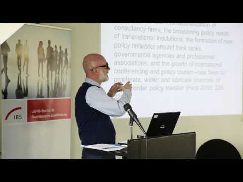 """Assembling urban policy as an exercise in worlding the city"" - Lecture by Prof. Kevin Ward"
