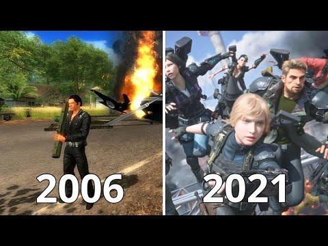 Just Cause Evolution 2006-2021 |
