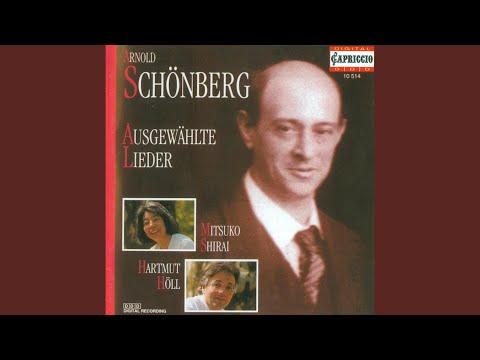 Brettl-Lieder (text by O.J. Bierbaum, F. Wedekind, H. Salus, E. Schikaneder and G. Hochstetter)...