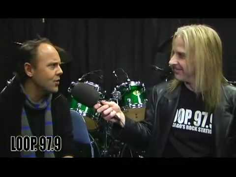 Lars Ulrich talks with Byrd (*NEW* January 2009)