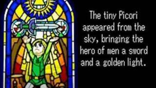 The Legend of Zelda: The Minish Cap - Intro story