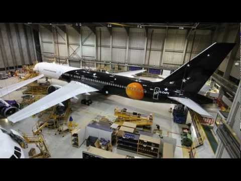 Titan Airways Boeing 757 - Maintenance by Monarch Aircraft E