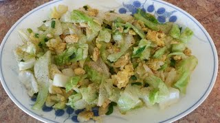 Egg and Cabbage Stir Fry Recipe
