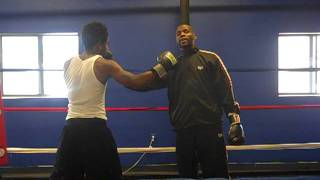 Technique of the Week with Pro Boxer Abel Perry. Fix elbow positioning and Countering a hook