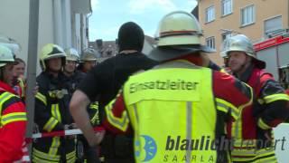 SEK stürmt Haus einer Geisteskranken in Saarbrücken-Burbach