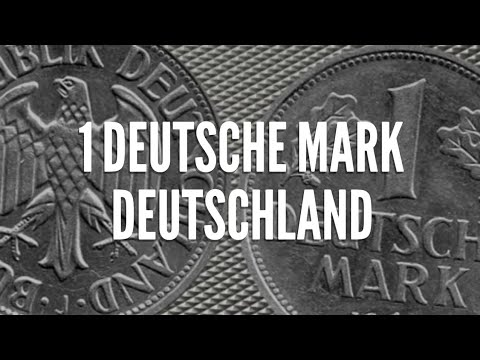 Rare 1 Deutsche Mark Coin of Germany