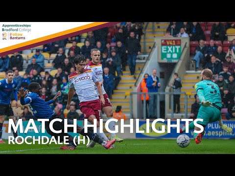 Bradford Rochdale Goals And Highlights
