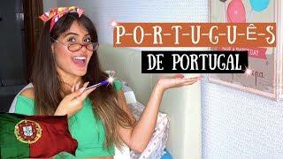 APRENDA A FALAR PORTUGUÊS DE PORTUGAL!!