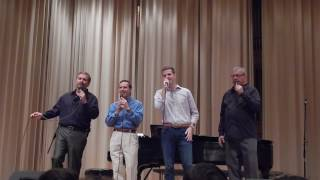 The Blackwood Brothers Quartet sings  The Old Country Church