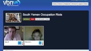 Marielle Leraand Talks about South Yemen Occupation!