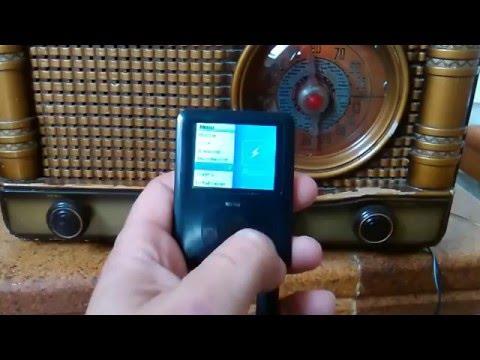 radio antigua a valvulas  ANNA. Funcionando en phono con un mp4