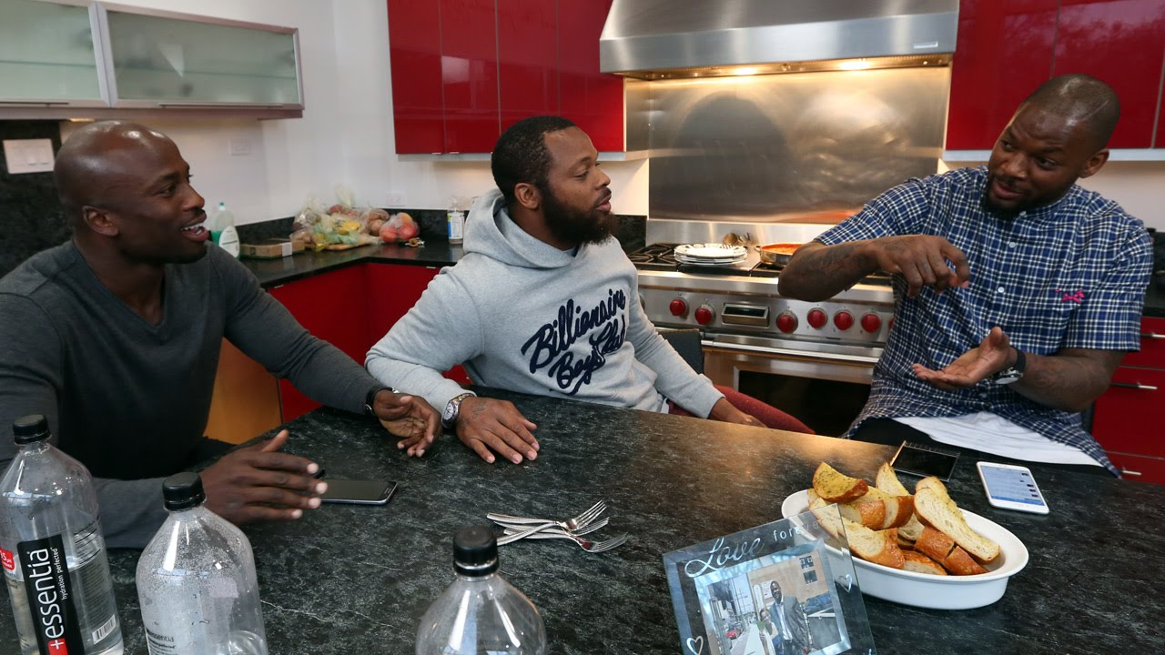 Let's Do Dinner with Michael and Martellus Bennett - YouTube