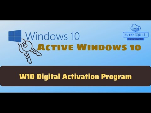 Cách Active Win 10 Pro Version 1511 – 1607 – 1709 – 1803 Vĩnh Viễn | QuyKhanhIT.Com