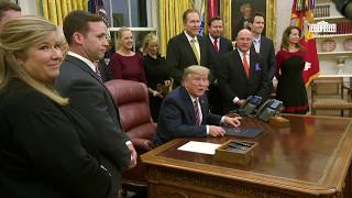 President Trump Participates in a Signing Ceremony for the Preventing Animal Cruelty and Torture Act