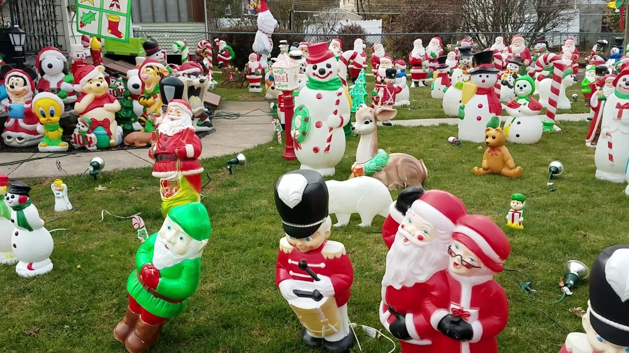 most excellent blow mold display in pennsylvania pa - Christmas Blow Mold