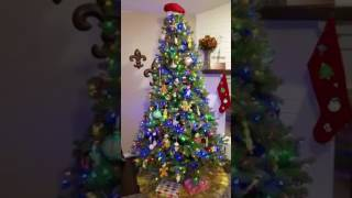 Once Around Our Revolving Christmas Tree 2016
