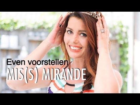 Leuk nieuws: Mis(s) Mirande vlogt vanaf volgende week maandelijks voor Vriendin