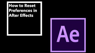 How to Fix After Effects Error Accessing Preference Files