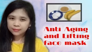 Anti Aging and Lifting face mask