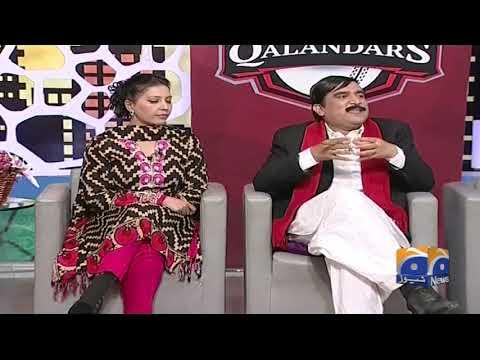 Dummy Muesum Mein Sheikh Rasheed Sb Aur Baygumaat.