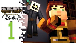 Minecraft: Story Mode (Episode 6) - Part 1 - A Portal To Mystery!