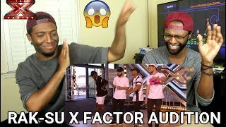 Rak-Su: Boyband Makes Nicole DANCE in HER SEAT | Auditions | The X Factor UK 2017 (REACTION)