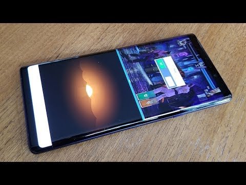 How To Use Split Screen on Samsung Galaxy Note 9 - Fliptroniks com