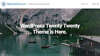 Twenty Twenty WordPress Theme Demo - 2020