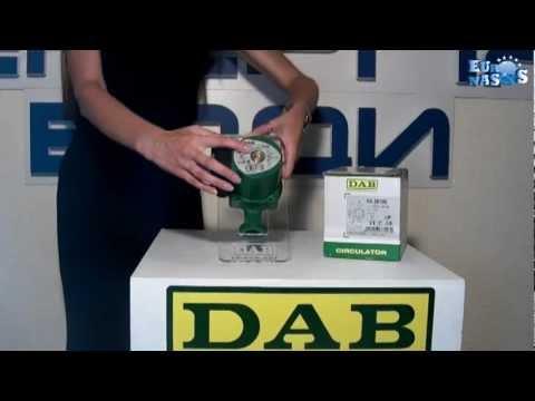Циркуляционный насос dab va 35/180 - YouTube