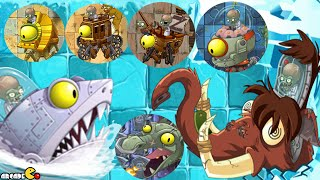Plants vs Zombies 2: All World Zomboss Battle Zombot Tuskmaster 10,000 BC! thumbnail