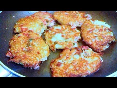 Как приготовить драники из картошки с колбасой