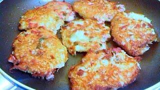 Вкуснятина из картошки / Драники с колбасой