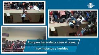 Varios medios cuestionan por qué se permitió que más de 60 estudiantes se agolparan en un solo piso, sin las medidas de distanciamiento y bioseguridad por la pandemia