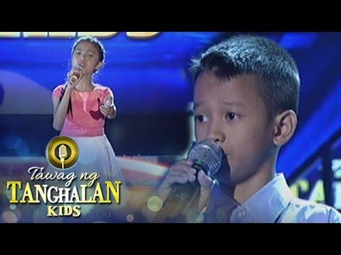 "Tawag ng Tanghalan Kids: FJ ""Ambo"" Sadiwa vs. Shaina Mae Allaga"