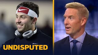 Joel Klatt on Hue Jackson's comments about Baker Mayfield's leadership | UNDISPUTED