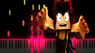 Zombie Girl (Minecraft Music Video Animation) \