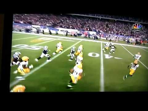 Dan Conolly 71yd kickoff return Patriots vs Packer