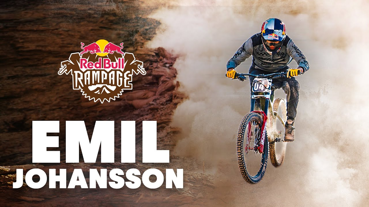 Emil Johannson A.K.A The Comeback Kid Has Arrived at Red Bull Rampage