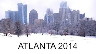 Piedmont Park Midtown - Atlanta Winter Snow Wonderland 2014  - Art Of Noise Moments In Love