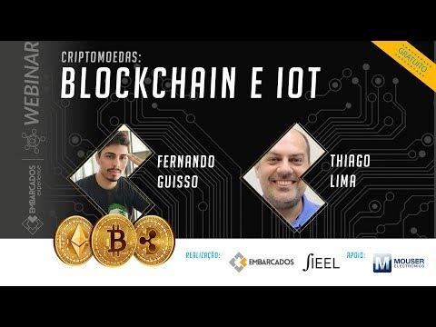 Webinar: Criptomoedas: Blockchain e IoT