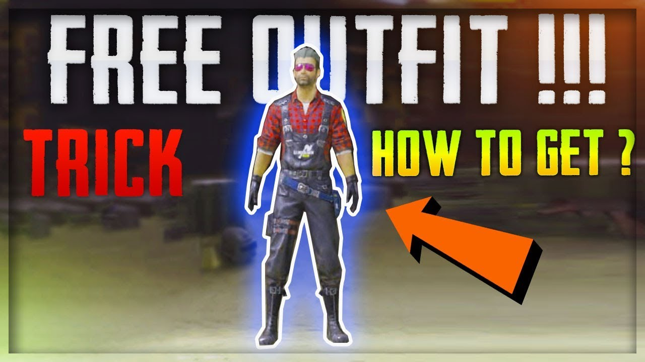 How To Get Free OUTFIT player Skin In Pubg Mobile - Outfit SKin In Pubg  Mobile Hindi