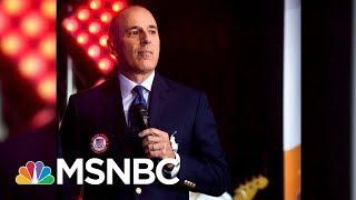 Matt Lauer's Inappropriate Behavior Reportedly Happened At 2014 Sochi Games | MSNBC