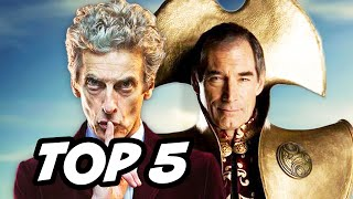 Doctor Who Series 9 Episode 10 Maisie Williams - TOP 5 WTF and Easter Eggs