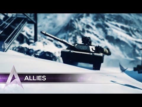 """Battlefield 3 Montage: Ascend Hawk & Naioh in """"Allies"""""""