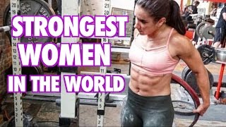 Strongest Women in the World -- all time powerlifting world records