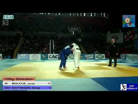 Javad Mahjoub (IRI) - Giorgi Kavtaradze (GEO) [-100kg]