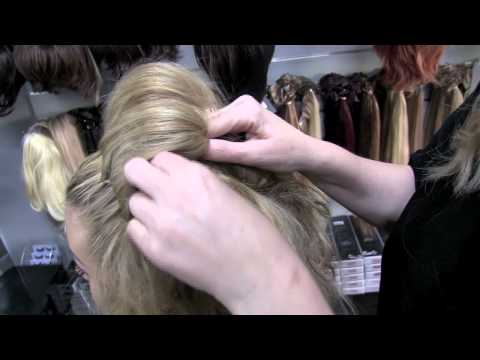 Adele Bun 3 minute hair Tutorial