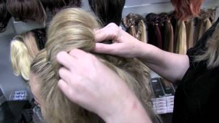 Adele Bun 3 minute hair Tutorial